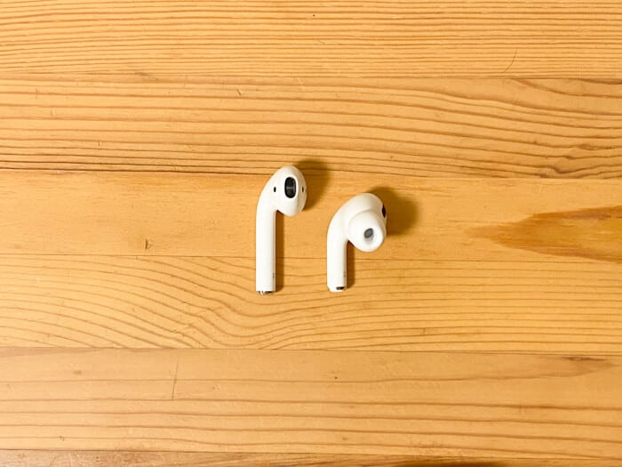 AirPodsとAirPods Proの違い