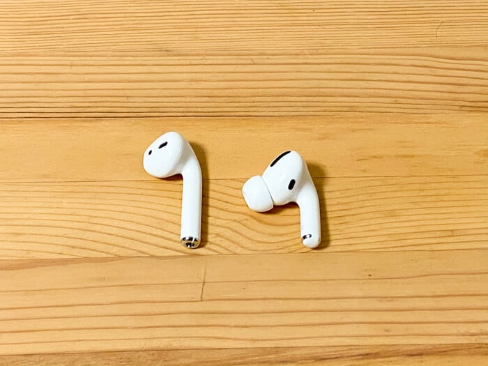 AirPods ProとAirPods比較