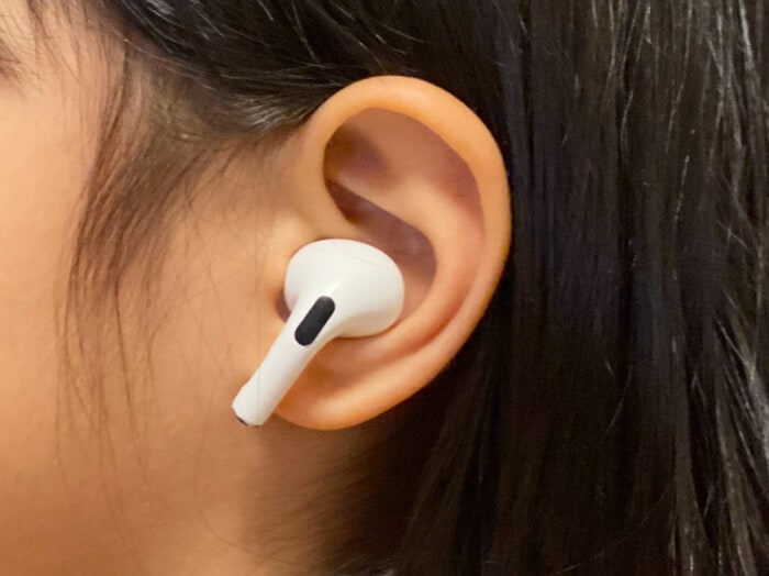 AirPods Pro装着感