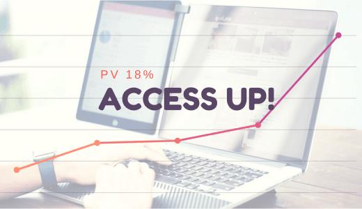 ユーザー目線!1ヶ月でブログPVを1.9倍に増やしたアクセスアップ術