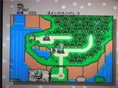 ミニスーパーファミコンのソフトスーパーマリオワールド