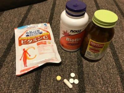 ビオチン治療汗疱で一回の摂取