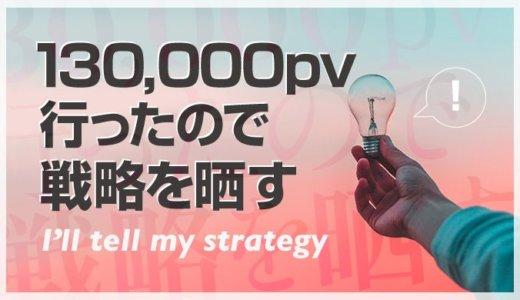 雑記ブログを13万pvまで成長させた8ヶ月間の戦略を晒す