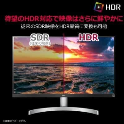 HDRの美麗モニター
