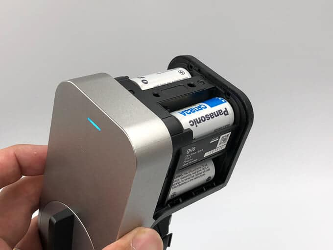 Qrioの予備電池