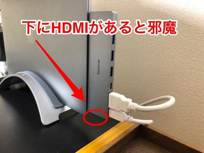HDMIの配置