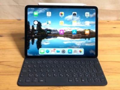 iPad Proとスマートキーボードフォリオ