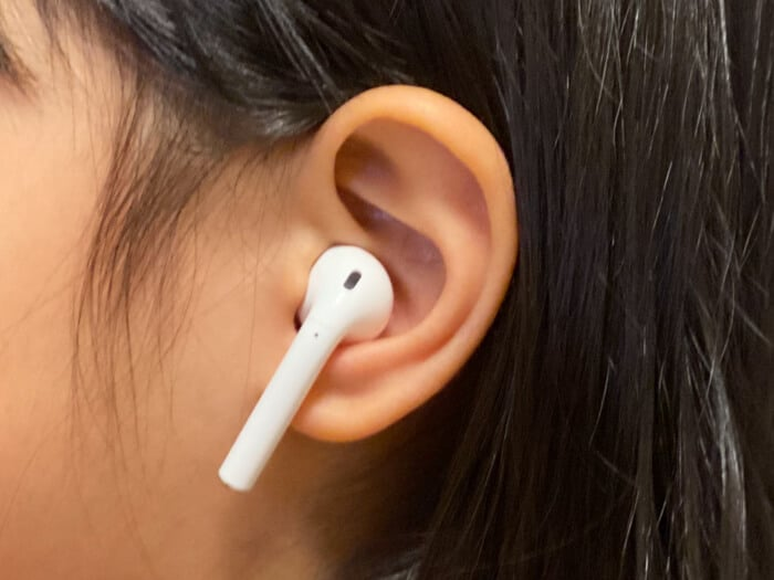AirPods 装着感
