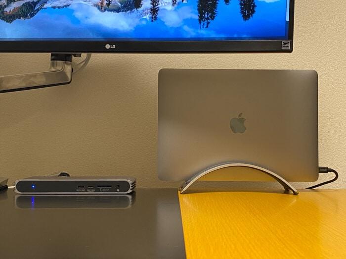トリプルディスプレイCalDigit USB-C Pro Dockドッキングステーション