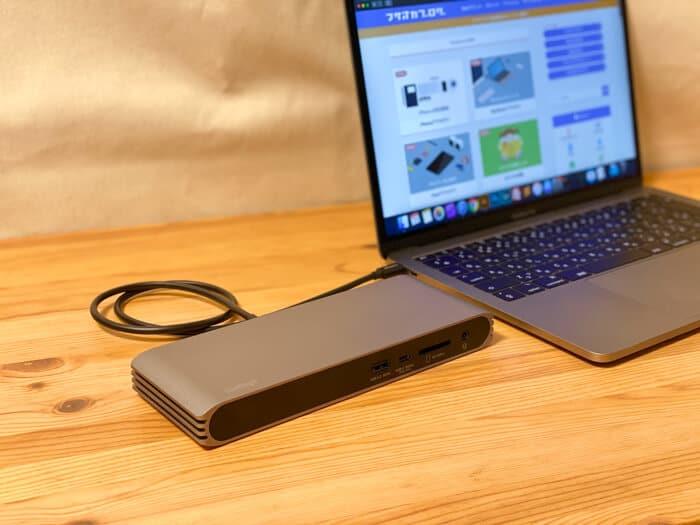 USB-C ハブ ドック