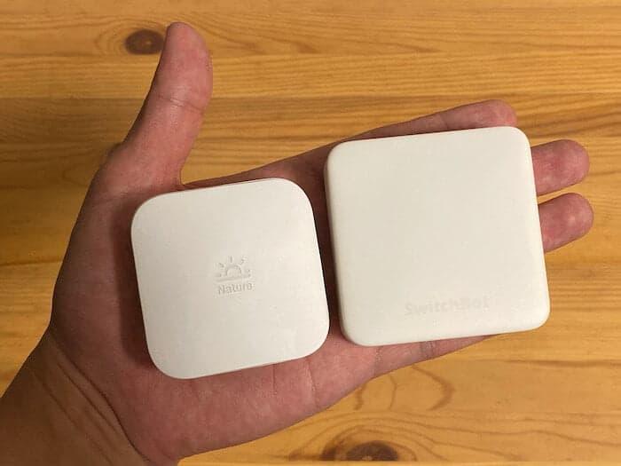 SwitchBotとNatureRemominiの比較