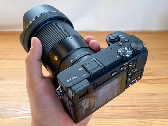 SONY α6600+SIGMA 16mm f1.4 dc dn