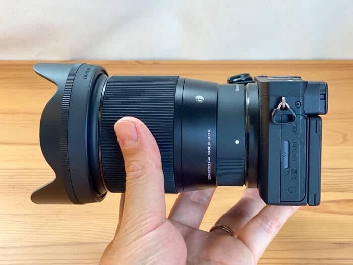 α6600SIGMA 16mm f1.4 dc dn