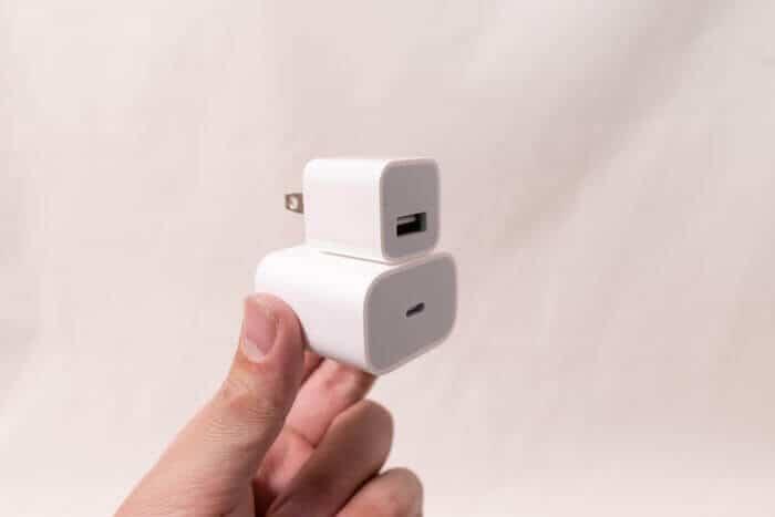 iPhone11Pro充電器デザイン変更
