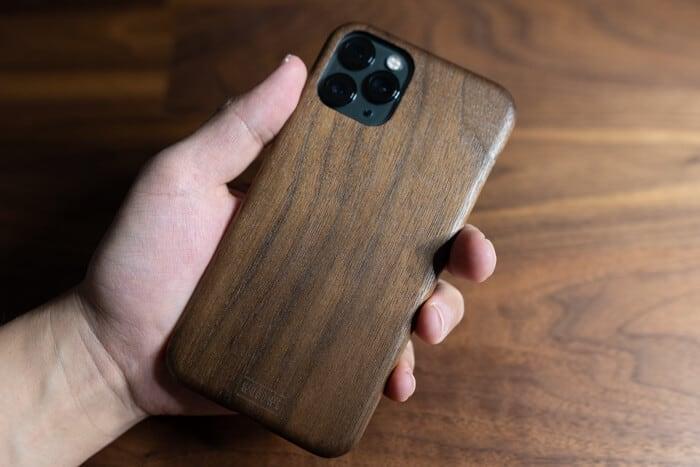 WOODWEおしゃれな木製iPhoneケース