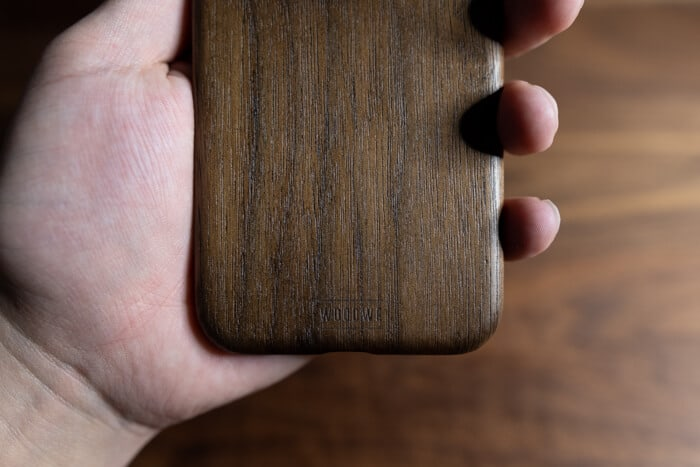 WOODWEのiPhoneケースロゴ