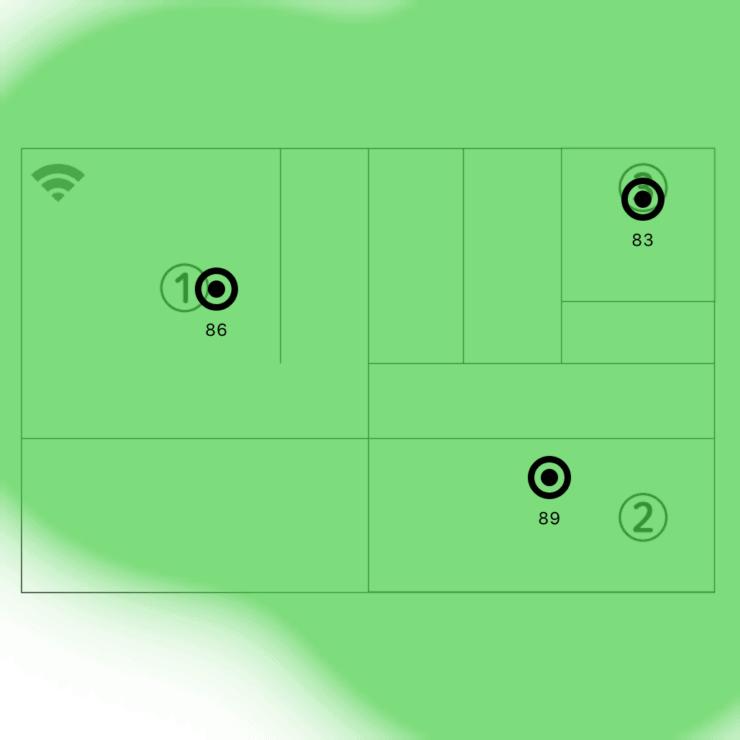 Deco M9 Plusネットワーク範囲