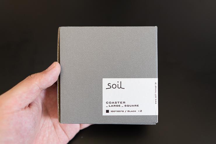 soil珪藻土コースター