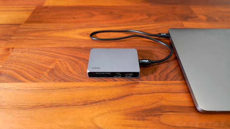 SOHO DockとMacBook Pro 13インチ