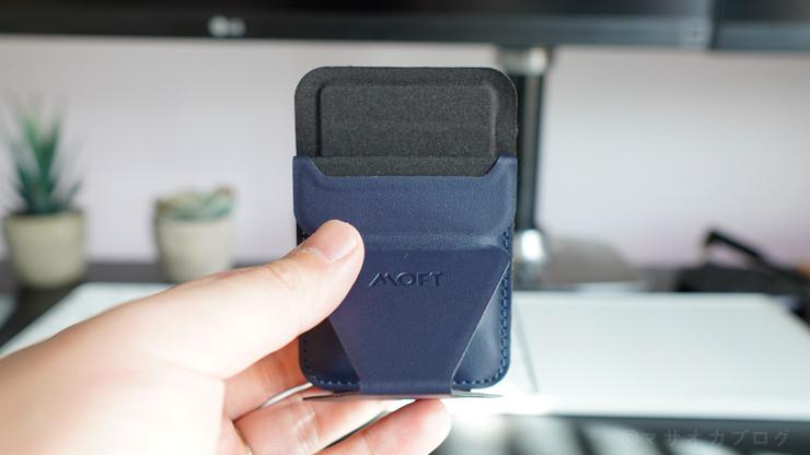 MOFT カード収納どれくらい