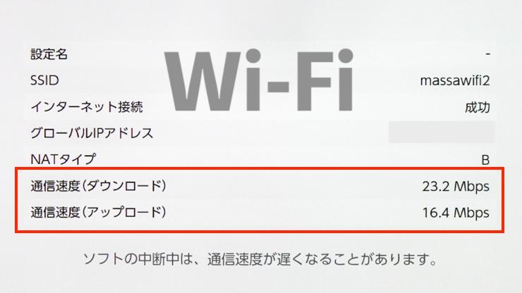 Switch Wi-Fiの速度