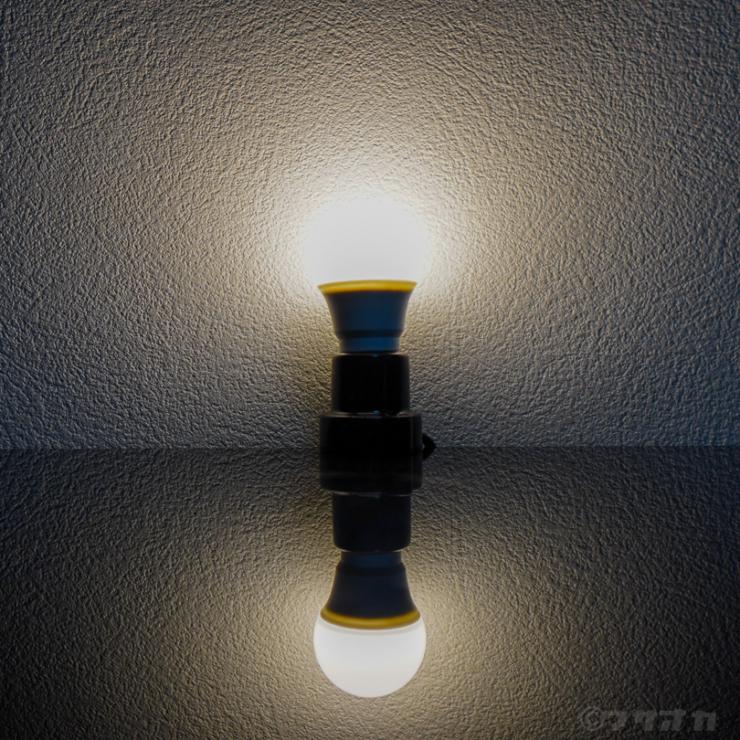 東芝LED電球配光角140°