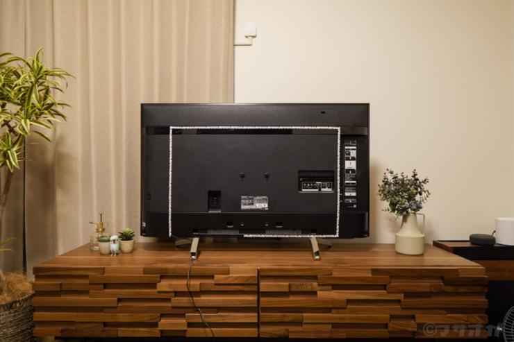 テレビ間接照明