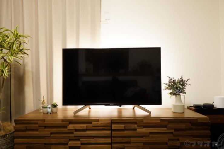 テレビ間接照明LED