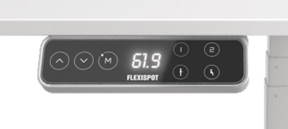 FlexiSpot E7操作パネル