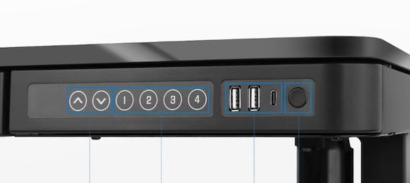 FlexiSpot EG8 コントローラー