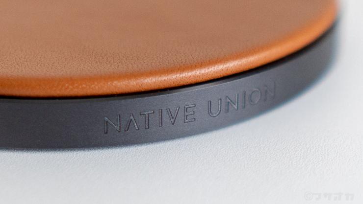 NATIVE UNION DROP本革ワイヤレス充電器