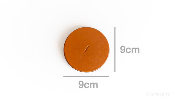 NATIVE UNION DROP本革ワイヤレス充電器サイズ