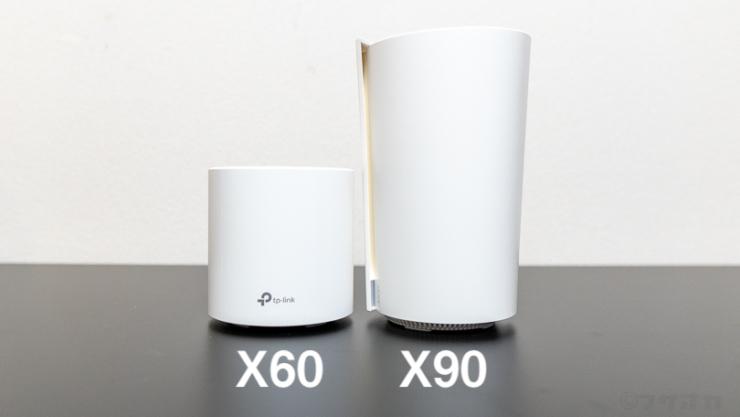 TP-Link Deco X90とX60