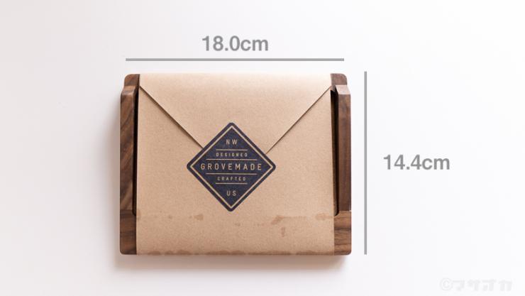 GROVEMADE Magictrackpad Trayサイズセンチ